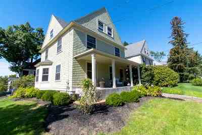 Manchester Single Family Home For Sale: 1014 Union Street