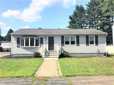 Nashua Single Family Home Active Under Contract: 12 Waltham Drive