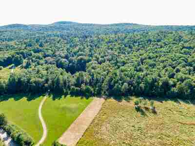 Chittenden County Residential Lots & Land For Sale: 1306 Old Stage Road