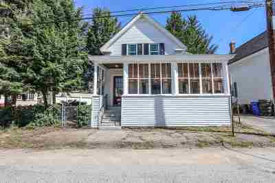 Manchester Single Family Home For Sale: 384 Amherst Street