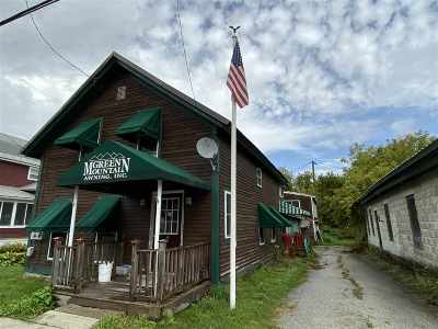 West Rutland Commercial For Sale: 36 Marble Street