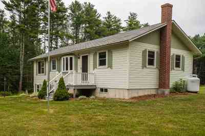 Moultonborough Single Family Home Active Under Contract: 2 Pineridge Road