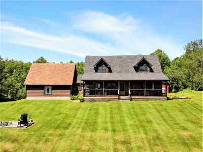 Newbury Single Family Home For Sale: 740 Cole Road