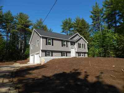 Bradford Single Family Home For Sale: Lot #15 Maple View Drive