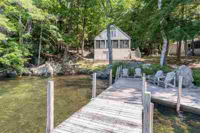 Meredith Single Family Home Active Under Contract: 276 Bear Island