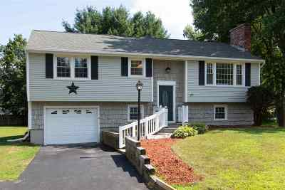 Merrimack Single Family Home For Sale: 17 Carriage Lane
