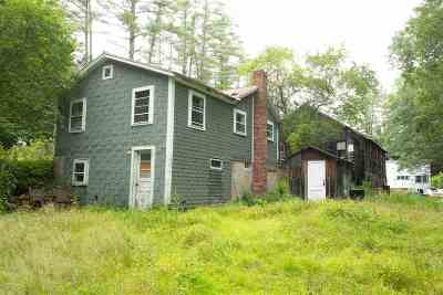 Campton Single Family Home For Sale: 1144 Us Route 3 Road