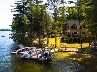 Tuftonboro Single Family Home For Sale: 3 Little Bear Island