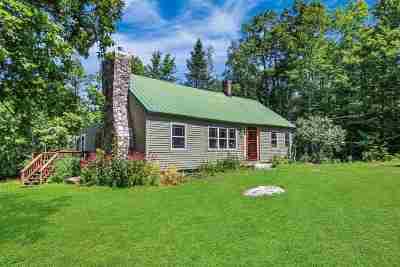 Wolfeboro Single Family Home For Sale: 31 Bennett Road