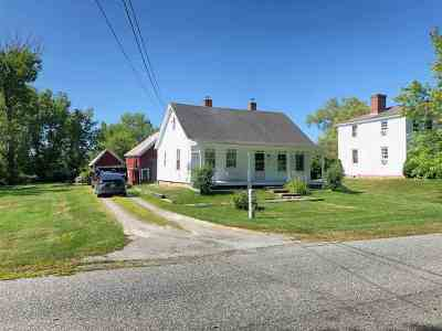 Haverhill NH Single Family Home For Sale: $147,500