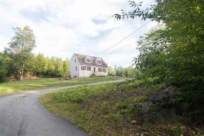 Loudon Single Family Home Active Under Contract: 683 Old Shaker Road