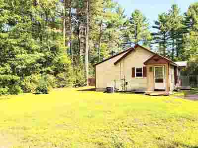 Conway Single Family Home For Sale: 80 Passaconaway Road