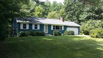 Merrimack Single Family Home Active Under Contract: 16 Brookside Drive