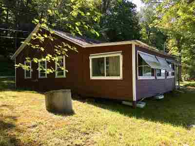 Poultney Single Family Home For Sale: 4008 Vermont Route 30s