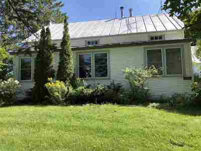 Franklin County Single Family Home For Sale: 1814 North Road
