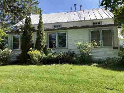 Berkshire VT Single Family Home For Sale: $225,000