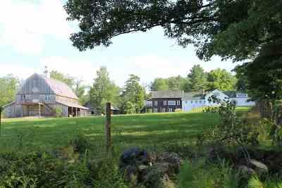 Bristol Single Family Home For Sale: 225 Hemp Hill Road