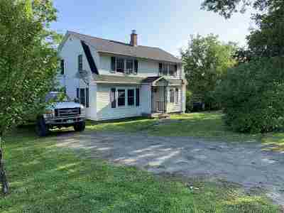 Stowe Single Family Home For Sale: 1763 Pucker Street