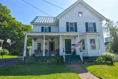 St. Albans City Single Family Home For Sale: 10 Farrar Street