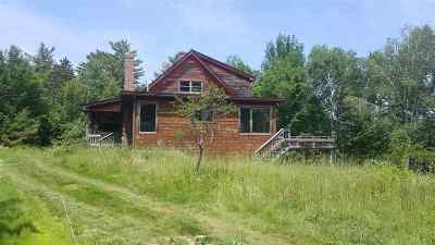 Orford Single Family Home For Auction: 1359 Nh Route 25a Highway