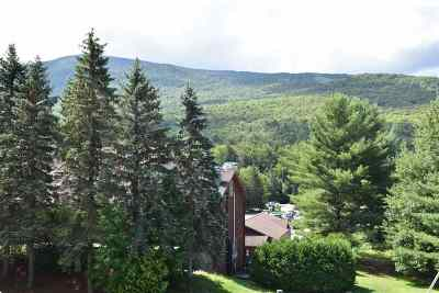 Cambridge Condo/Townhouse For Sale: 22 Liftside 22 At Smugglers Notch Resort #22