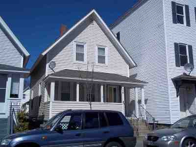 Manchester Single Family Home For Sale: 172 Central Street
