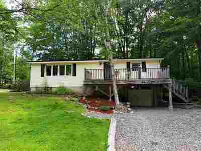 Barnstead Single Family Home For Sale: 36 Rogers Road
