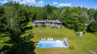 Stowe Single Family Home Active Under Contract: 858 Alpine View Road