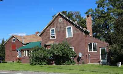 Cambridge Single Family Home For Sale: 693 Vt Rte 108 South Highway