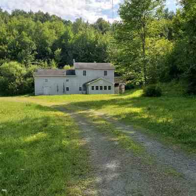Cambridge Single Family Home For Sale: 484 Williamson Road