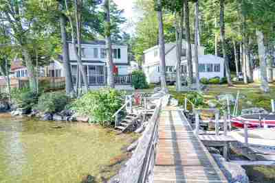 Gilford Single Family Home Active Under Contract: 171 Dockham Shore Road #U3