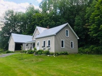 Montpelier Single Family Home For Sale: 2900 Elm Street
