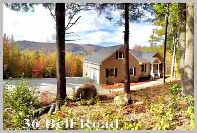 Plymouth Single Family Home For Sale: 36 Bell Road