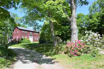Wolfeboro Single Family Home For Sale: 768 Center Street