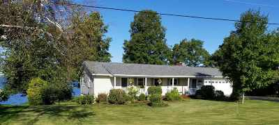 St. Albans Town Single Family Home For Sale: 734 Maquam Shore Road