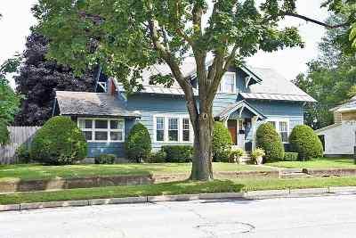 Rutland, Rutland City Single Family Home For Sale: 57 Jackson Avenue