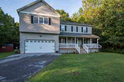 Milton Single Family Home For Sale: 143 Murray Avenue