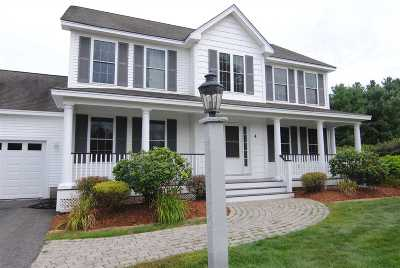 Nashua Single Family Home Active Under Contract: 4 Burley Avenue