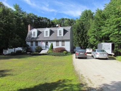 Auburn Single Family Home For Sale: 63 Buttonwood Drive