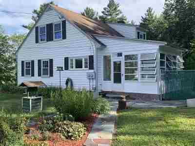 Auburn Single Family Home For Sale: 209 Hooksett Road