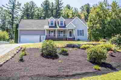 Goffstown Single Family Home Active Under Contract: 43 Tyler Drive