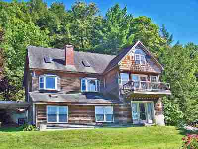 Castleton Single Family Home For Sale: 3488 Route 30 North