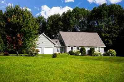 Elmore Single Family Home Active Under Contract: 3099 Vermont Route 12