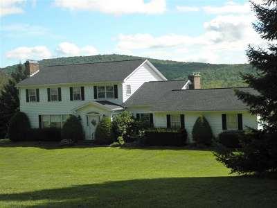 Danby Single Family Home For Sale: 540 Old Otis Road