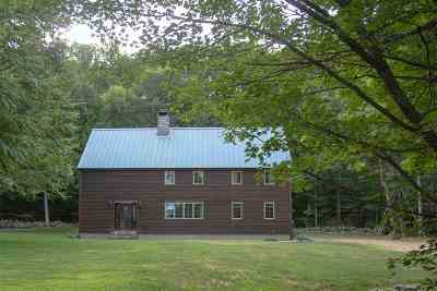 Hooksett NH Single Family Home For Sale: $600,000