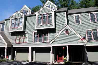 Hooksett NH Condo/Townhouse For Sale: $285,000