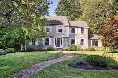 Bedford Single Family Home Active Under Contract: 53 Brick Mill Road