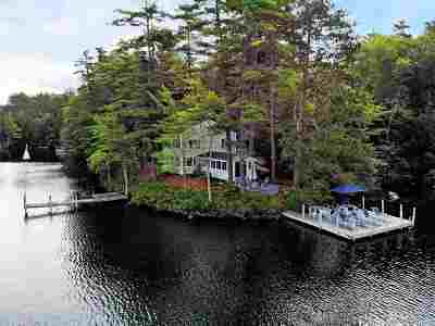 Meredith Single Family Home For Sale: 23 Tommy's Cove Road