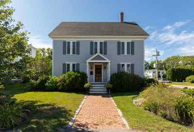 Exeter Single Family Home For Sale: 55 High Street