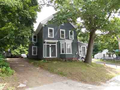 Laconia Multi Family Home Active Under Contract: 33 Avery Street